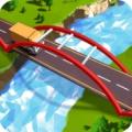 交通桥梁建筑的道路