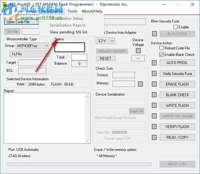 FET-Pro430 Lite(支持Win10) 3.02 免费版