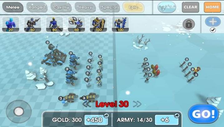 史诗战斗模拟器2无限钻石版 1.4.00 安卓版
