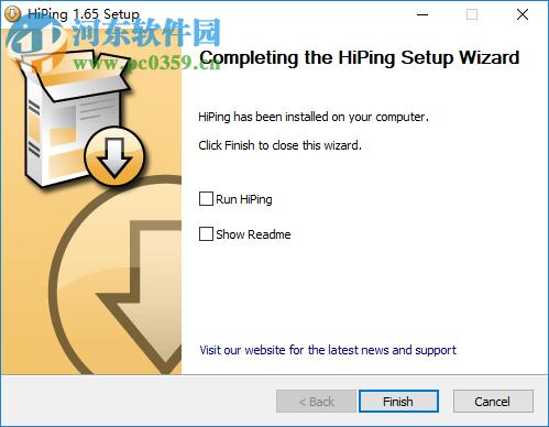 HiPing(TCP&IP监视工具) 1.65 官方版