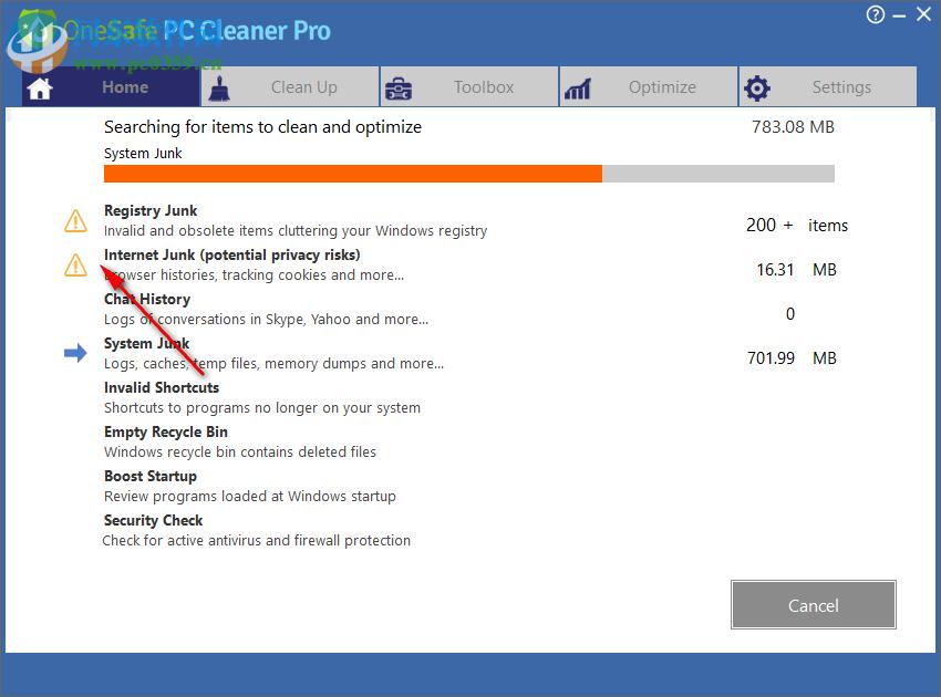 OneSafe PC Cleaner(系统清理) 6.2 破解版