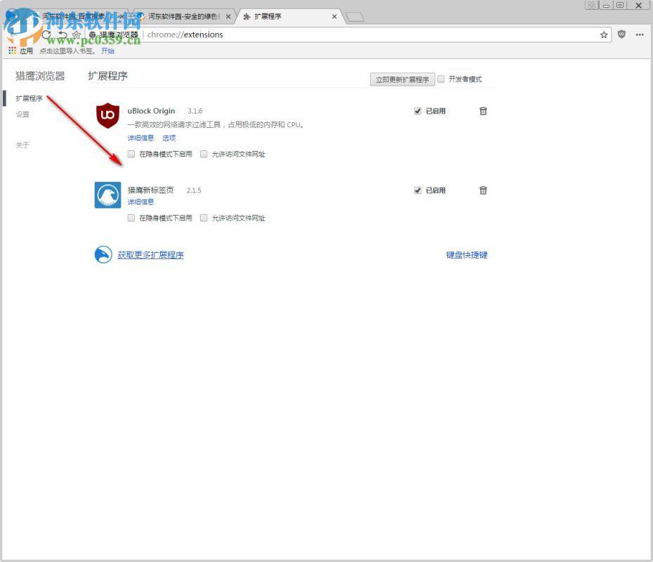 猎鹰浏览器 4.1.7 官方版
