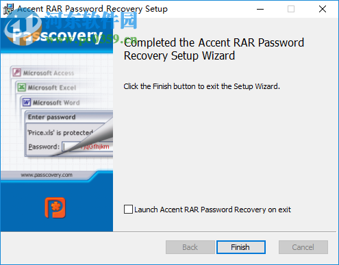 accent rar password recovery Pro 3.61 中文破解版