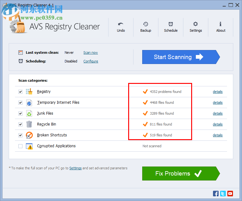 AVS Registry Cleaner(注册表垃圾清理软件) 4.1.2 官方版