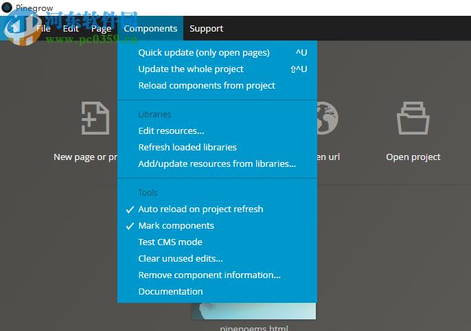 Pinegrow Web Editor(Web编辑器) 4.91 破解版