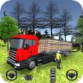 卡车司机货物运输