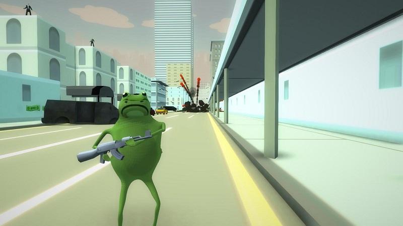 疯狂青蛙模拟器(2)