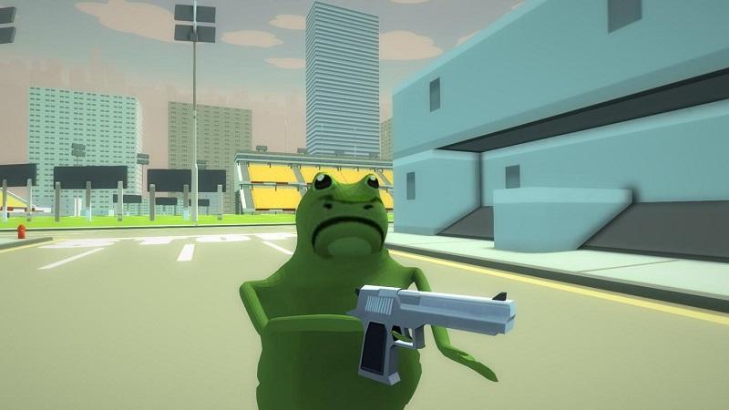 疯狂青蛙模拟器(3)