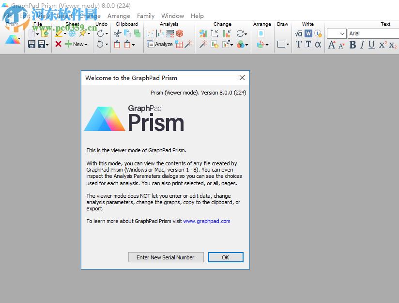 Graphpad Prism 8(医学<a href=http://www.pc0359.cn/zt/jjht/ target=_blank class=infotextkey>绘图软件</a>)32位/64位