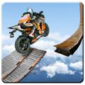 极不可能的轨道特技摩托车