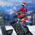 特技摩托车雪地技巧