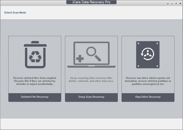 icare data recovery software 8.2.0.1 官方版