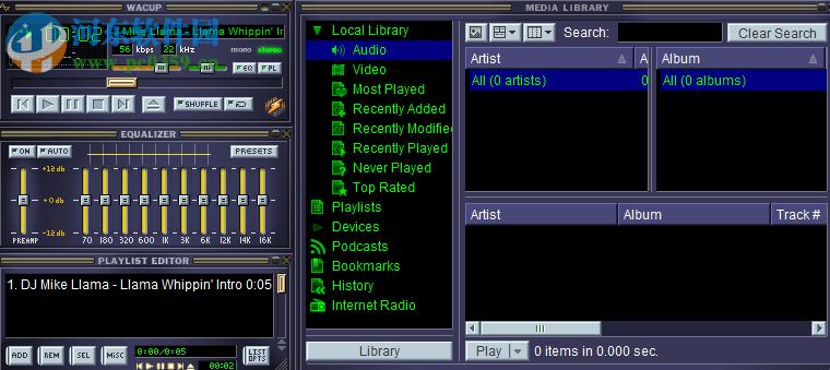 WACUP(音频播放器) 1.0.1.3276 官方版