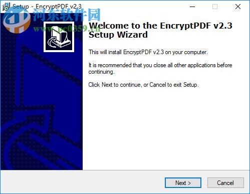 PDF加密软件(Encrypt PDF) 2.3 官方版
