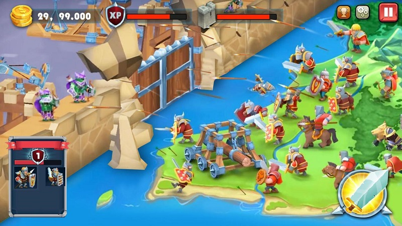 城堡防御(1)