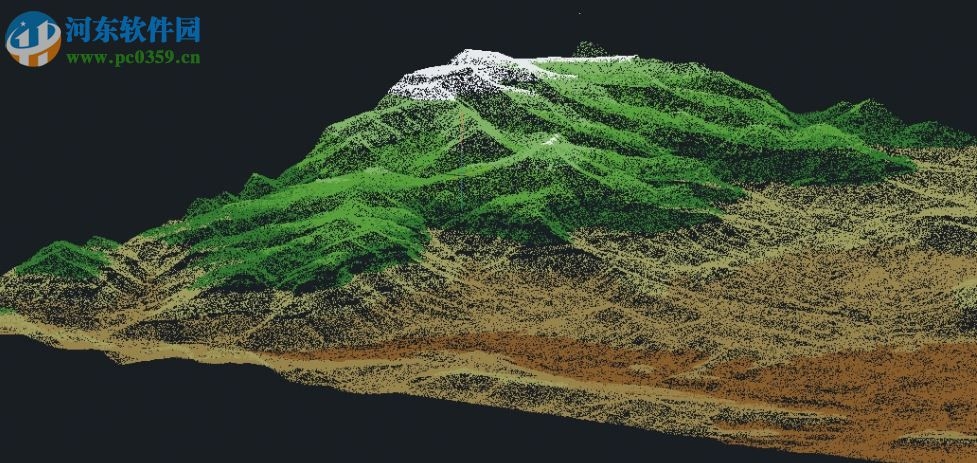 手工制作地理地形模型