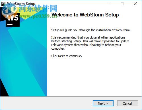 webstorm 2019.1中文破解版 附安装教程