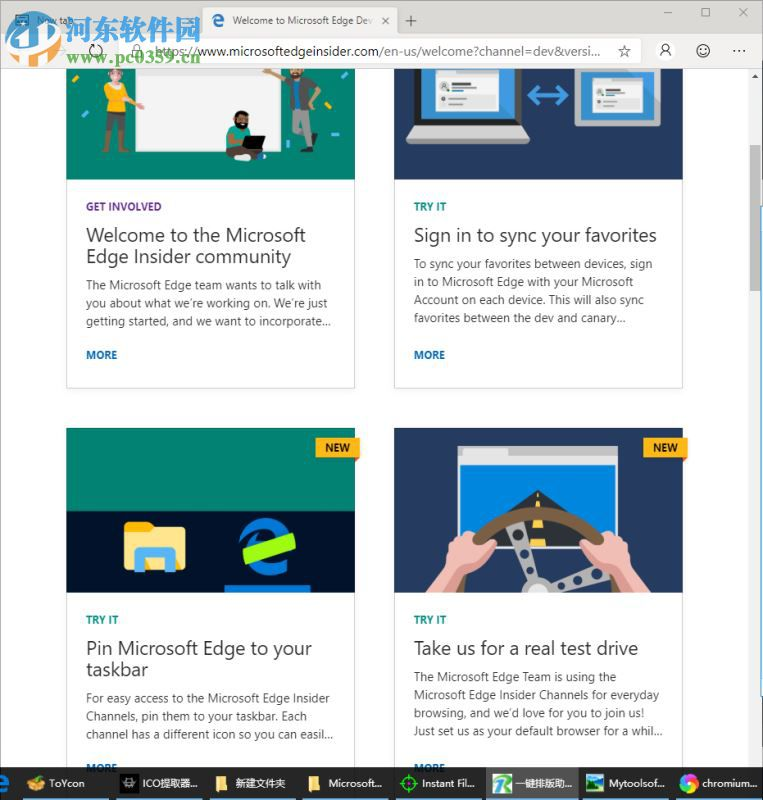 Microsoft Edge Dev(Chromium Edge开发版)