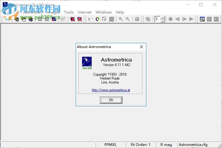 Astrometrica(天体测量软件) 4.11.1.442 免费版