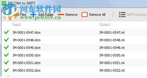 DICOM到NIFTI转换工具(DICOM to NIfTI) 1.10.5 官方版