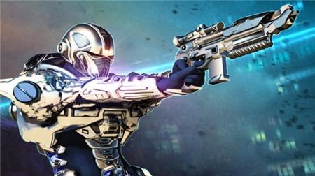 现代前线士兵与机器人(1)