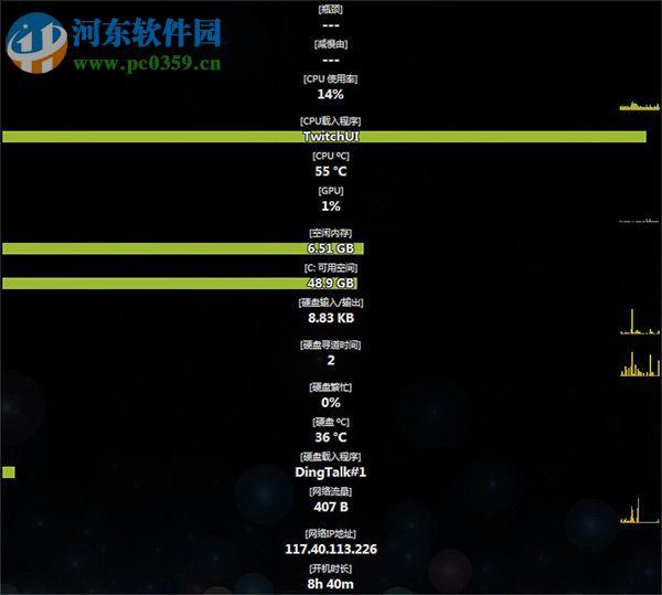 Moo0 System Monitor(系统监视器软件) 1.83 多语言绿色版