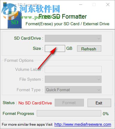 Free SD Formatter(SD卡格式化软件) 1.0 官方最新版