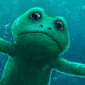 青蛙深呼吸
