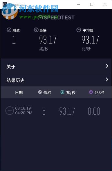 Ookla Speedtest(网速测试工具) 1.2.27 中文版