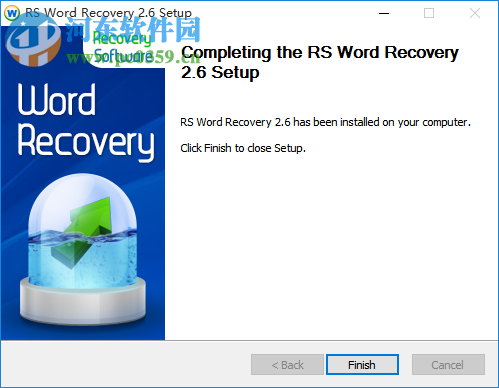 RS Word Recovery(Word文档恢复软件) 2.6 官方版