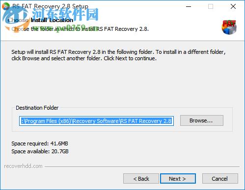 RS FAT Recovery(FAT分区数据恢复工具) 2.8 官方版