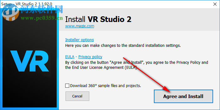 MAGIX VR Studio(VR视频编辑软件) 2.1.1.92 免费版
