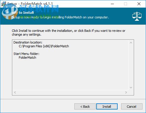 FolderMatch(文件夹同步比较工具)