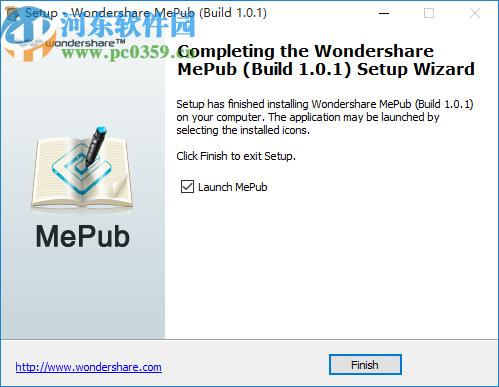 Wondershare MePub(EPUB电子书创建工具)