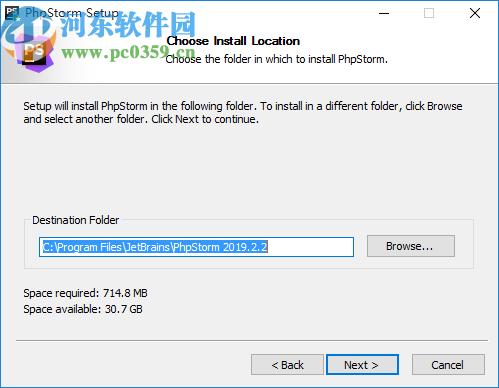 phpstorm 2019.2.2中文破解版