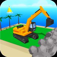 迪拜海滩建设
