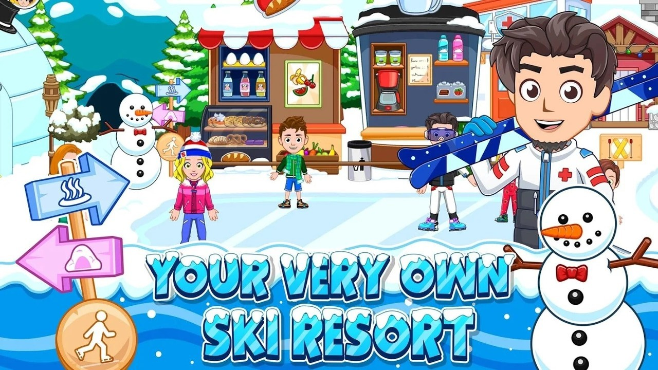 我的城市:滑雪场(2)