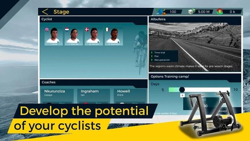 实自行车队经理2(4)