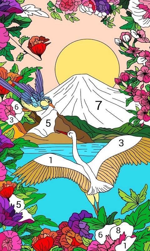 按数字编号上色的涂色书(3)