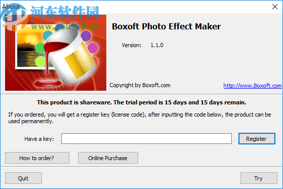 Boxoft Photo Effect Maker(图片编辑工具)
