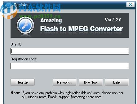 Amazing Flash to MPEG Converter(Flash转视频工具)