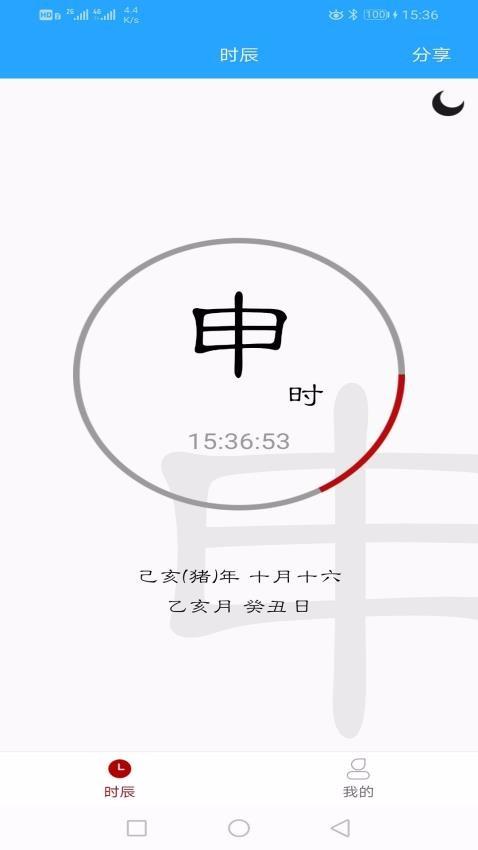 时辰黄历(2)