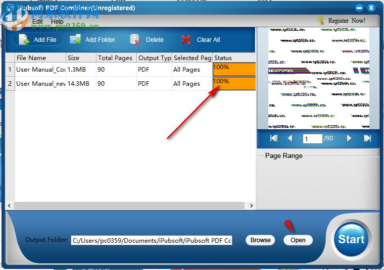 iPubsoft PDF Combiner(PDF文件合并)
