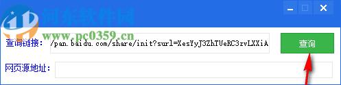 网盘密码查询工具