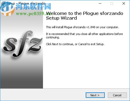 Plogue Sforzando(SFZ播放器)