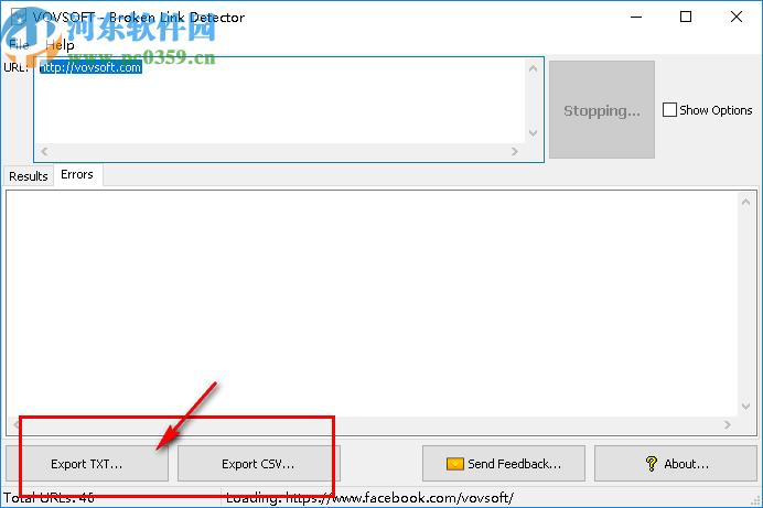 VovSoft Broken Link Detector(网站死链检测软件)