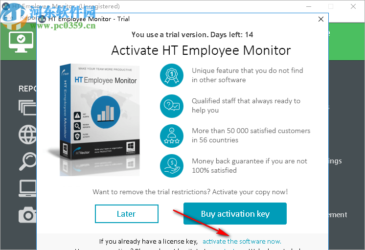 HT Employee Monitor(电脑监控软件)