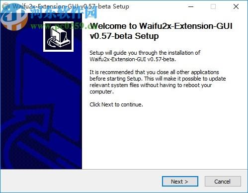 图片放大清晰处理软件(Waifu2x-Extension-GUI)