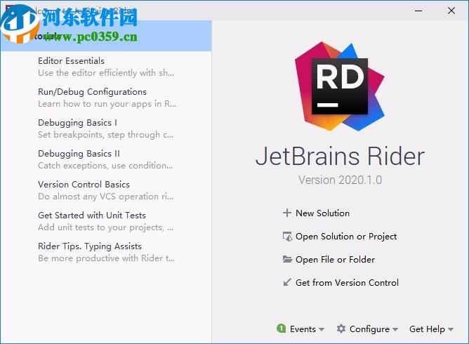 JetBrains Rider 2020破解补丁