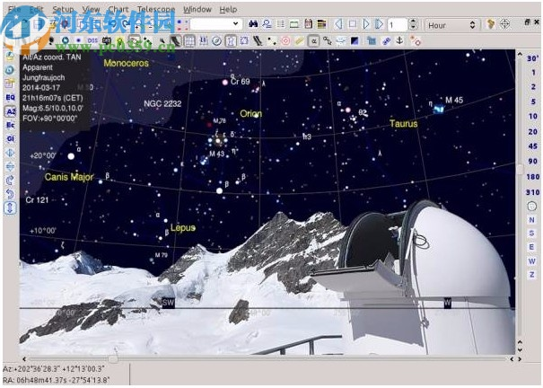 SkyChart(绘制天象图软件)